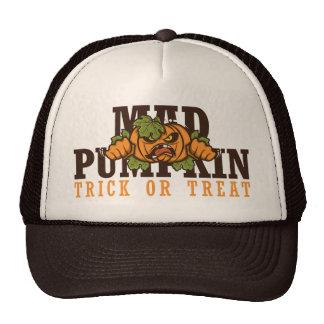 Mad pumpkin trucker hat