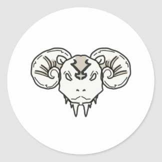 Mad RaM Classic Round Sticker