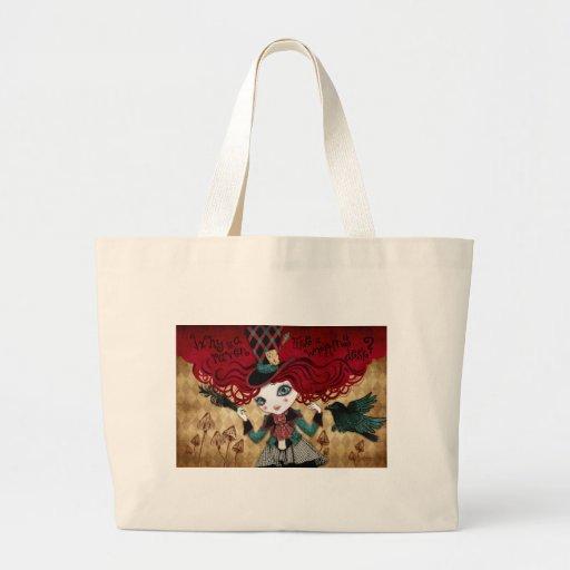 Mad Riddle Jumbo Tote Bag