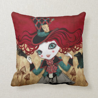 Mad Riddle Pillow