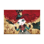 Mad Riddle Wrapped Canvas Stretched Canvas Prints