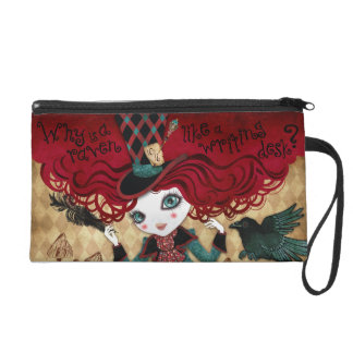 Mad Riddle Wristlet Bag Clutch