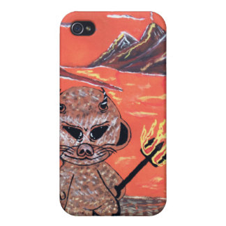 mad robot ill dooker devil iPhone 4/4S case