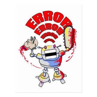 Mad Robot Postcard