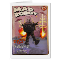 Mad Robot Pulp Cover Card