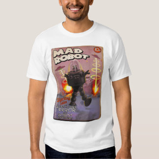 Mad Robot Pulp Cover T-Shirt