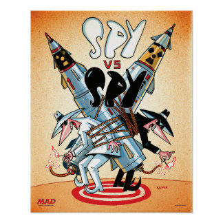 MAD's Spy vs. Spy Poster