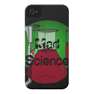 Mad Science Beakers Test Tubes Solutions iPhone 4 Cover
