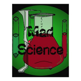 Mad Science Beakers Test Tubes Solutions Letterhead