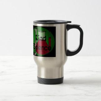 Mad Science Beakers Test Tubes Solutions Coffee Mug