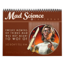 Mad Science Calendar