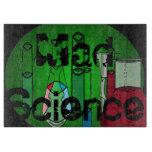 Mad Science Geek Kitchen Glass Cutting Board 2