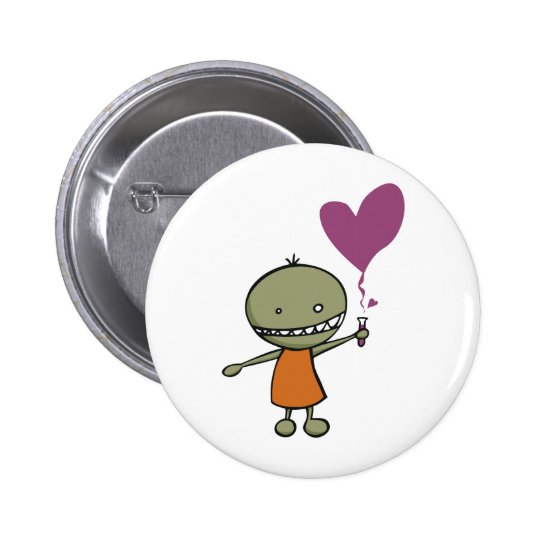 Mad Science Love Pinback Button
