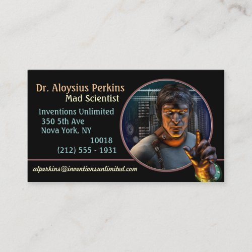 Mad Science! (M) Business Cards