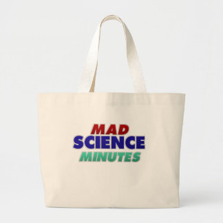 Mad Science Minutes Tote Bag...non-bloodstained!