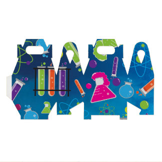 Mad Science Scientist Birthday Party Favor Boxes