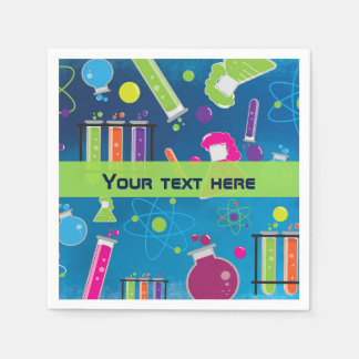 Mad Science Scientist Birthday Party Napkins