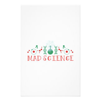 Mad Science Stationery