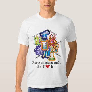 Mad science t shirts