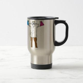Mad scientist 1 travel mug