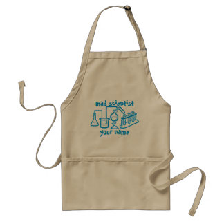 Mad Scientist Adult Apron