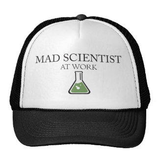 Mad Scientist at Work Trucker Hat