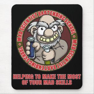 Mad Scientist Bartending School Mousepad