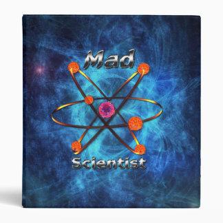 Mad Scientist 3 Ring Binders