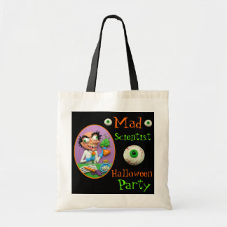 Mad Scientist Budget Tote Bag