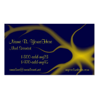 Mad Scientist Business Card