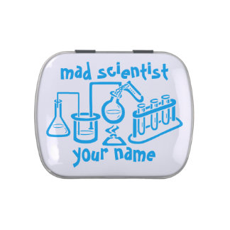 Mad Scientist Candy Tin