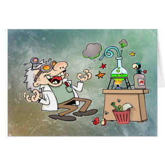 Mad Scientist Card