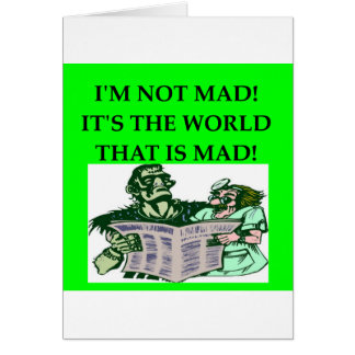 MAD scientist Cards
