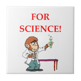 mad scientist ceramic tile