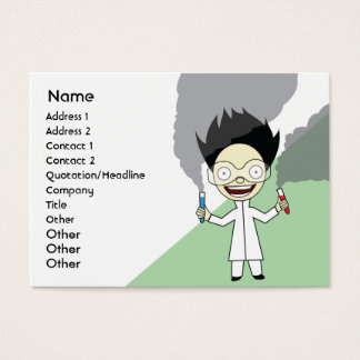 Mad Scientist - Chubby Business Card