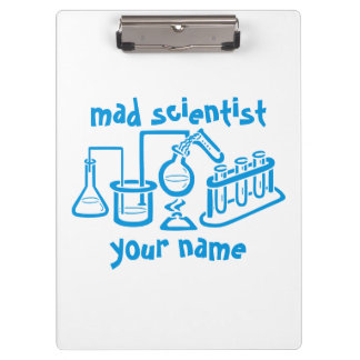 Mad Scientist Clipboard