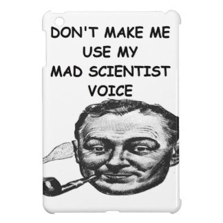 mad scientist cover for the iPad mini