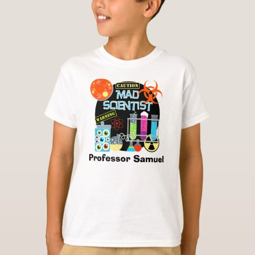 Mad Scientist Customized T_shirt