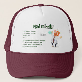 Mad Scientist Drink Recipe Trucker Hat