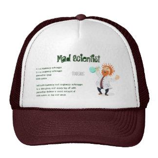 Mad Scientist Drink Recipe Trucker Hat