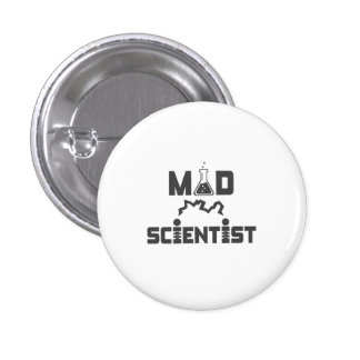 Mad Scientist Electric Science Beaker Button