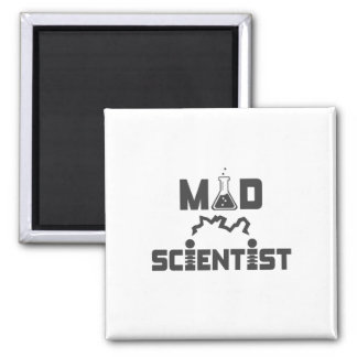 Mad Scientist Electric Science Beaker Magnet