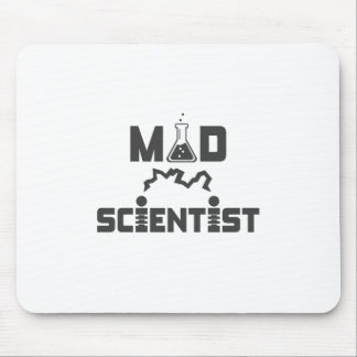 Mad Scientist Electric Science Beaker Mouse Pad