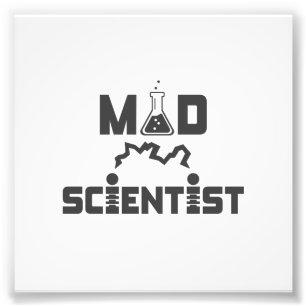 Mad Scientist Electric Science Beaker Photo Print