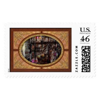Mad Scientist - Essence of life machine Stamps