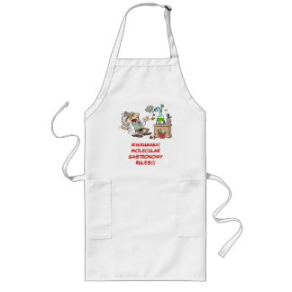 Mad Scientist Go Cooking Long Apron
