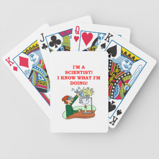 mad scientist joke bicycle playing cards