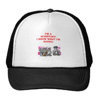 mad scientist joke mesh hats
