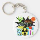 Mad  Scientist Keychain
