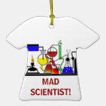 MAD SCIENTIST LABORATORY ORNAMENT